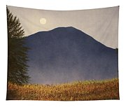 Moonlit Mountain Meadow Tapestry