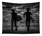 Moonlit Stroll Tapestry
