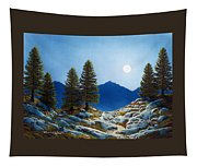 Moonlit Trail Tapestry