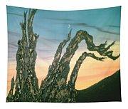Moonset-bristlecone Pine Tapestry