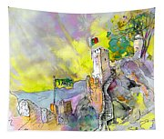 Moorish Castle In Sintra 01 Tapestry