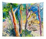 Moorish Castle In Sintra 02 Tapestry