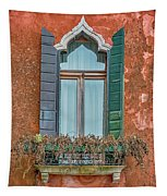 Moorish Window And Texture Venice_dsc5350_03052017 Tapestry