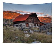 More Barn Steamboat Tapestry
