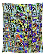 More Colors Abstract Tapestry