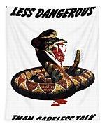 More Dangerous Than A Rattlesnake - Ww2 Tapestry