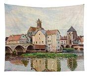 Moret-sur-loing. Morning Tapestry