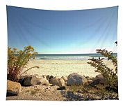 Morning At Qgunquit Beach. Tapestry