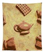 Morning Breakfast Chocolate Tea Set  Tapestry
