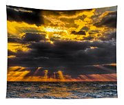 Morning Drama Tapestry