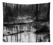 Morning In The Swamp Tapestry