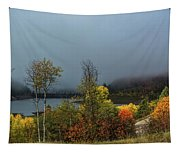 Morning Light And Fog Tapestry