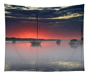 Morning Mist - Florida Sunrise Tapestry