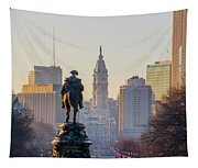 Morning On The Parkway - Philadelphia Tapestry