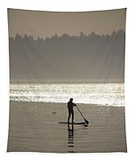 Morning Paddle Tapestry