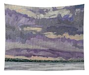 Morning Rain Clouds Tapestry
