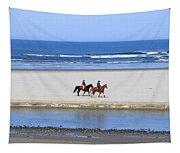 Morning Ride Tapestry