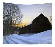 Morning Solitude Tapestry