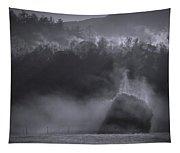 Morning Sun Rising Fog Cades Cove Tapestry