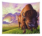 Morning Thunder Tapestry