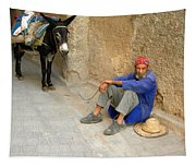 Moroccan Taxi Tapestry
