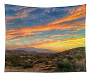 Morongo Valley Sunset Tapestry