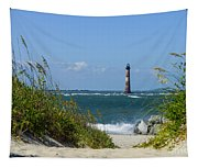 Morris Island Lighthouse Walkway Tapestry