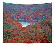 Morrow Mountain Overlook Tapestry