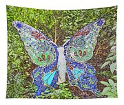 Mosaic Butterfly Tapestry