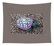 Mosaic Turtle Tapestry