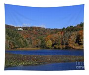 Moses Cone Manor House And Bass Lake Tapestry