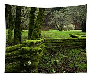 Mossy Fence 2 Tapestry