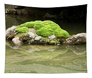 Mossy Turtle Rock Tapestry