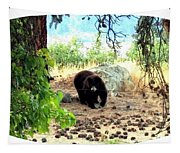 Mother Bear Tapestry
