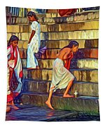 Mother Ganges - Paint Tapestry
