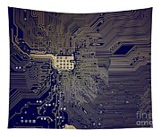 Motherboard Architecture Blue Tapestry