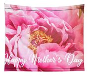 Mother's Day Peony Tapestry