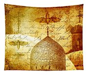 Moths And Mosques Tapestry