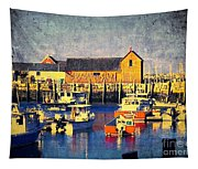 Motif No. 1 - Sunset Digital Art Oil Print Tapestry
