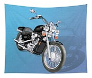 Motorcycle Tapestry