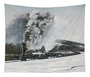 Mount Carmel Eruption Tapestry
