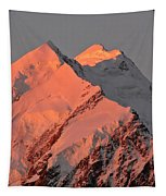 Mount Cook Range On South Island In New Zealand Tapestry