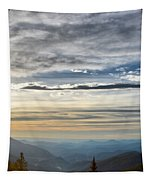 Mount Evans Painterly 1 Tapestry