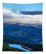 Mount Evans Painterly 2  Tapestry