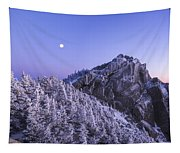 Mount Liberty Blue Hour Tapestry