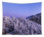 Mount Liberty Blue Hour Panorama Tapestry