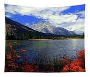 Mount Moran In The Fall Tapestry