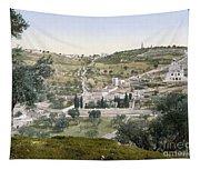 Mount Of Olives, C1900 Tapestry