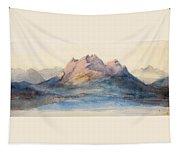 Mount Pilatus From Lake Lucerne, Switzerland Tapestry