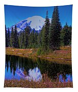 Mount Rainier And Tipsoo Lake Tapestry